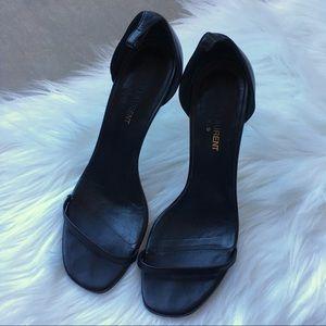 Vintage YSL Yves Saint Laurent Strappy Black Heels